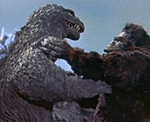Montaje promo King Kong vs Godzilla